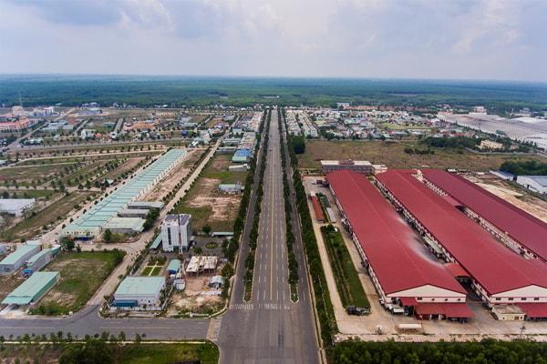 khu công nghiệp Bàu Bàng mở rộng