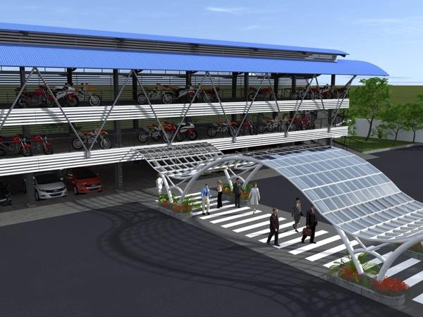 mẫu xây dựng nhà để xe