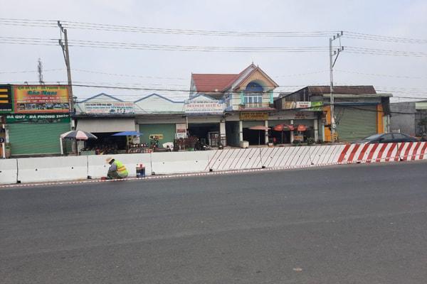 nâng cấp đường giao thông DT743