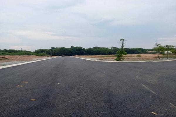 xây dựng đường dân cư Thới Hòa