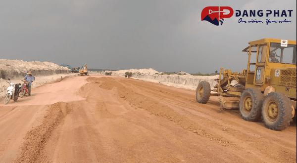 xây dựng đường n22 bàu bàng